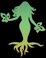 Modern Green Goddess Mascot